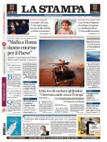 """07 12 14 La.Stampa """"Mafia aRoma danno enorme per"""