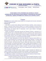 Avviso pubblico - Comune di San Giovanni La Punta