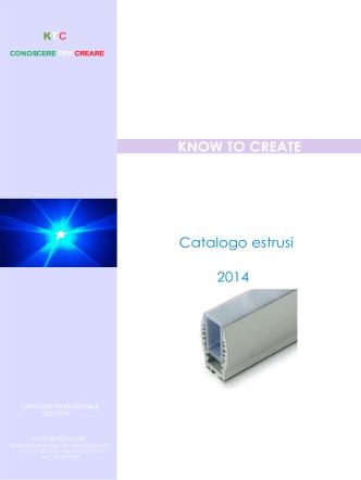 Catalogo estrusi 2014