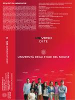 UNIVERSO DI TE - Università degli Studi del Molise