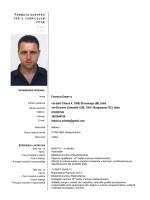 Curriculum vitae Consigliere Federico Erbetta