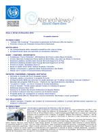 Newletter 24 Novembre 2014