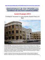 Recensioni - Liceo Orazio Flacco Bari