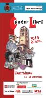 programma cantalibri 2014