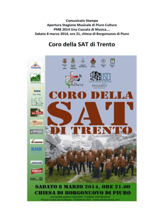 Coro della SAT di Trento - Gruppo bancario Credito Valtellinese