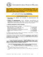 divisione - Università degli Studi di Milano