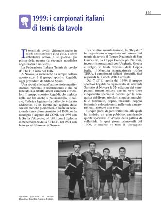 1999 i campionati italiani di TT - panathlon