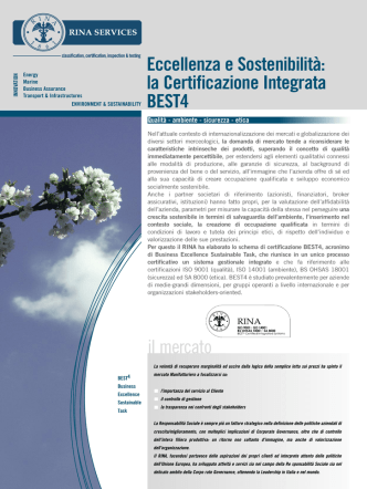 Brochure Best4 - Rina Services