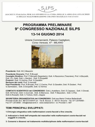 9° congresso nazionale silps milano, 13