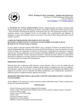 corso di formazione i duan pkc 2015