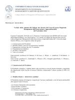 Verbale Collegio MII 9-9-2014 - Dipartimento di Economia