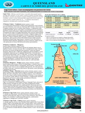 Cape York Safari - Pan Pacific Tours