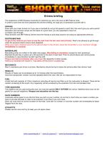 IBR Shootout Race infos