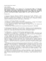 Bando - Regione Piemonte