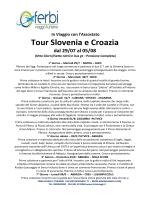 Tour Slovenia e Croazia Assostato(1)