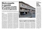 Morte sospetta in ospedale La Procura emette 4 avvisi di garanzia