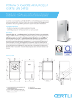 PomPa di calore aria/acqua oertli liN 24teS