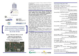 Brochure - Ordine dei Geologi del Lazio