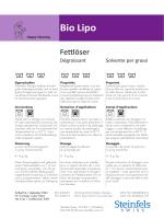 Bio Lipo - Steinfels Swiss