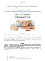 Urbino, 11-12 Lu Urbino, 11-12 Luglio 2014 lio 2014