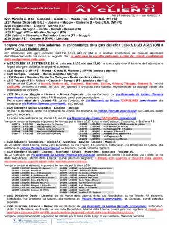 Avviso 080BT 2014 LISSONE coppa UGO AGOSTONI 2°
