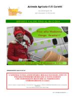 Azienda Agricola F.lli Caretti OFFERTE VALIDE FINO AL 08/12/2014