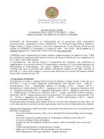 Avviso Selezione Summer School Amity University