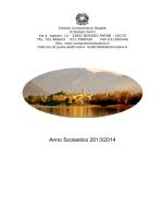 POF 13-14 - Istituto Comprensivo Bosisio Parini