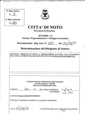 693 - Comune di Noto