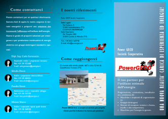 Brochure presentazione 2014/IT
