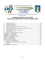 Comunicato n° 15 - Accademia Cologno Calcio
