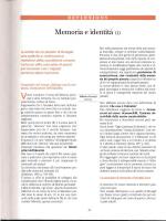 Memoria e identità (1)