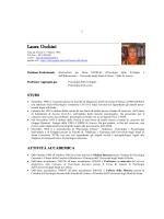 Laura Occhini - Dipartimento di Scienze della formazione, scienze