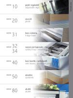 basi colonna fridge base piedi regolabili