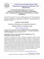Seminars Leonard-Barolli-October23-30-Nov-3