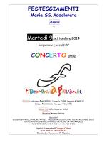 LOC. e PROGR. concerto 9 sett. 2014 Aspra