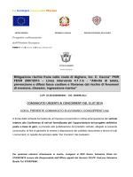 """Mitigazione rischio frane nella costa di Alghero, loc. C. Caccia"""" POR"""