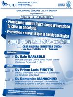 Bozza Loc LILT Saluggia - Lega Italiana per la lotta contro i tumori