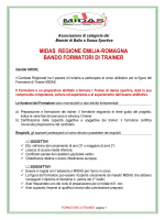Bando Formatori - MIDAS Emilia Romagna