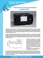 Nuovo analizzatore di black carbon modello AE33