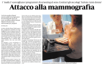 Attacco alla mammografia