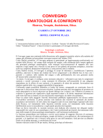 EMATOLOGIE A CONFRONTO
