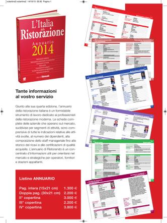 brochure - Ristorando
