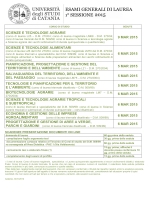 scienze e tecnologie agrarie 9 mar 2015 scienze e