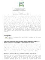 Newsletter n.1 22/23 marzo 2014 Torna la newsletter del Marco