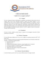 """CORSO DI FORMAZIONE """"Analisi LCA con supporto software"""""""