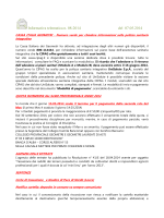 Informativa telematica n. 08-2014 del 07.05.2014