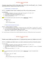 Massimo comune divisore e minimo comune multiplo con problemi