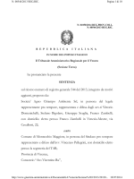 sentenza TAR Veneto n. 1050 del 2014