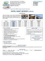 HOTEL SAINT GEORGE 3 STELLE